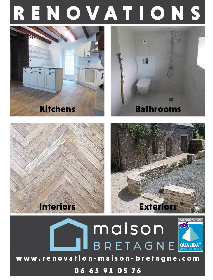 Maison Bretagne, Builders & Associated Tradesmen in Brittany